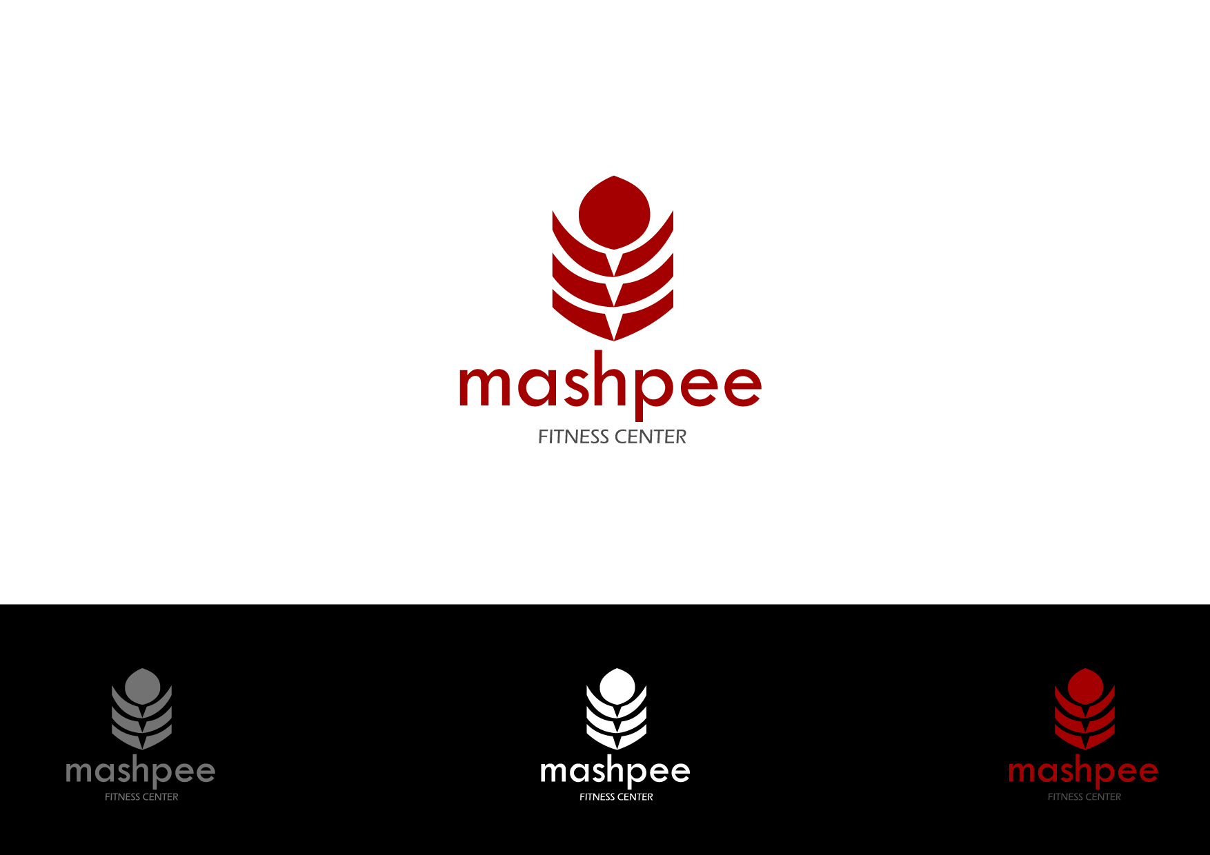 Logo Design by Osi Indra - Entry No. 61 in the Logo Design Contest New Logo Design for Mashpee Fitness Center.
