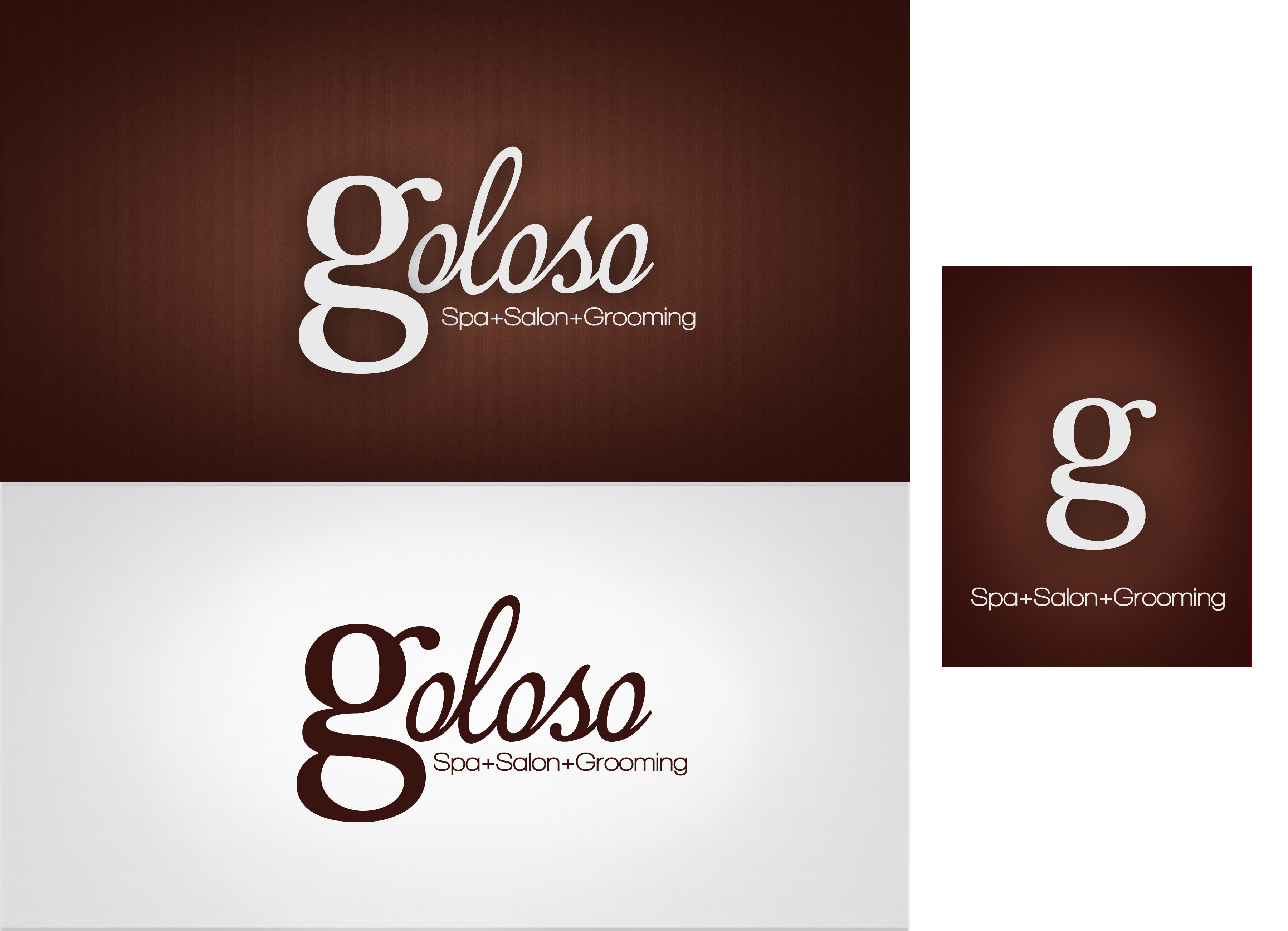 Logo Design by Lama Creative - Entry No. 102 in the Logo Design Contest Unique Logo Design Wanted for Goloso.