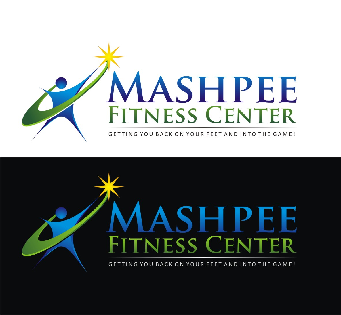 Logo Design by Reivan Ferdinan - Entry No. 63 in the Logo Design Contest New Logo Design for Mashpee Fitness Center.