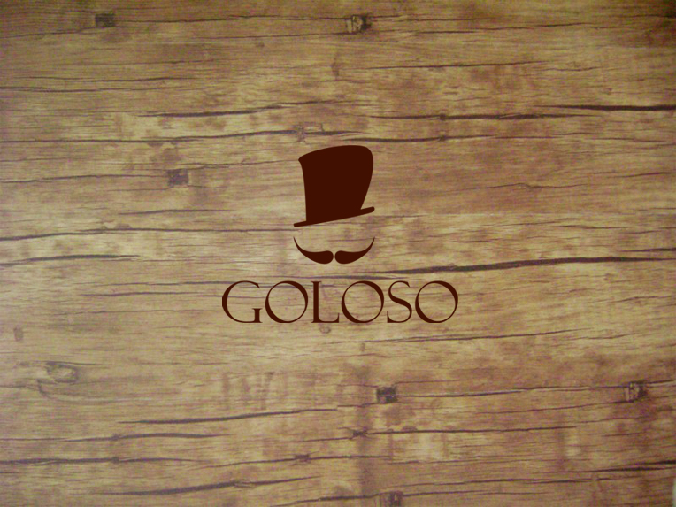 Logo Design by Osi Indra - Entry No. 105 in the Logo Design Contest Unique Logo Design Wanted for Goloso.