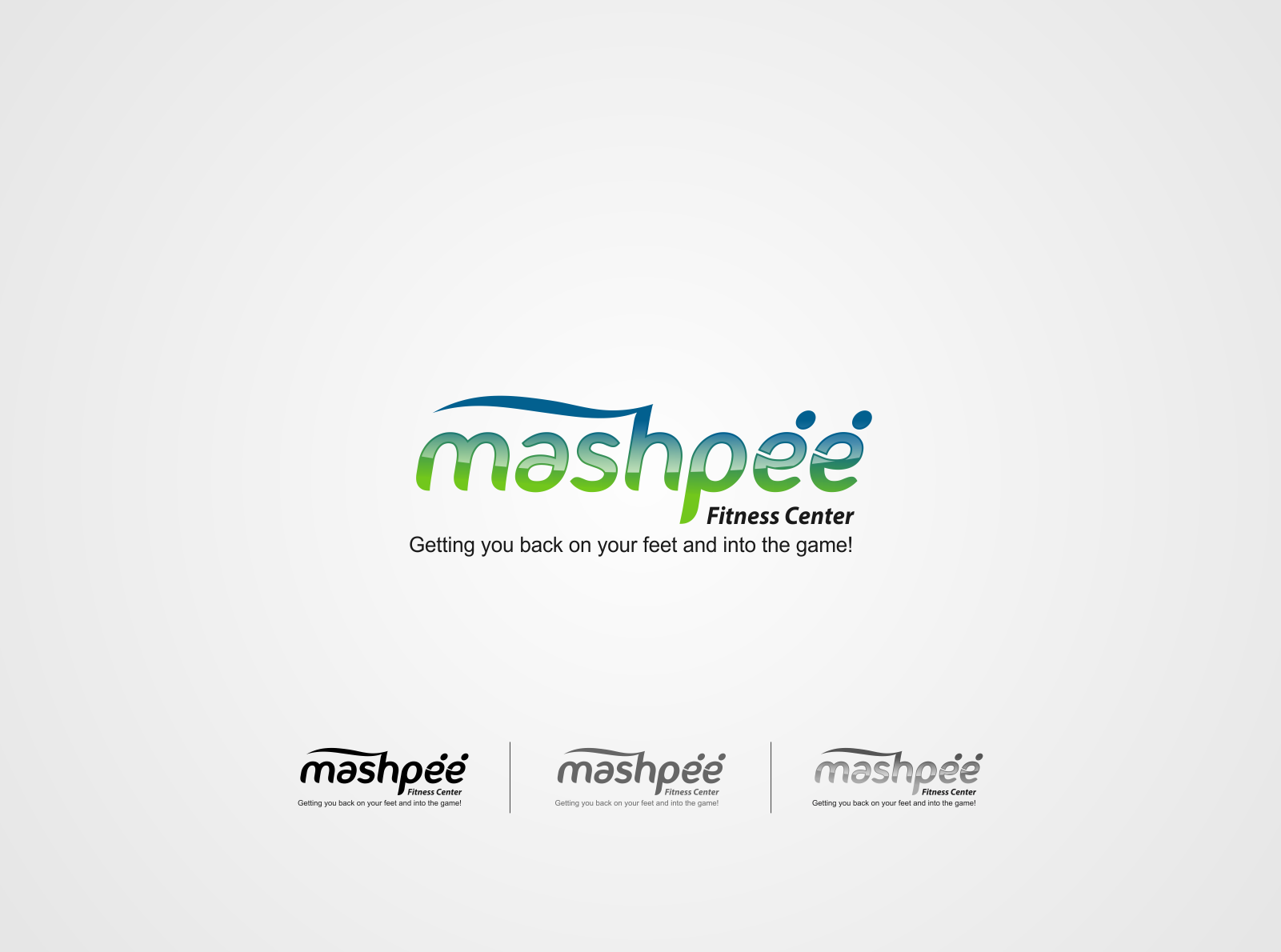 Logo Design by Kurawa Ngalalana - Entry No. 65 in the Logo Design Contest New Logo Design for Mashpee Fitness Center.
