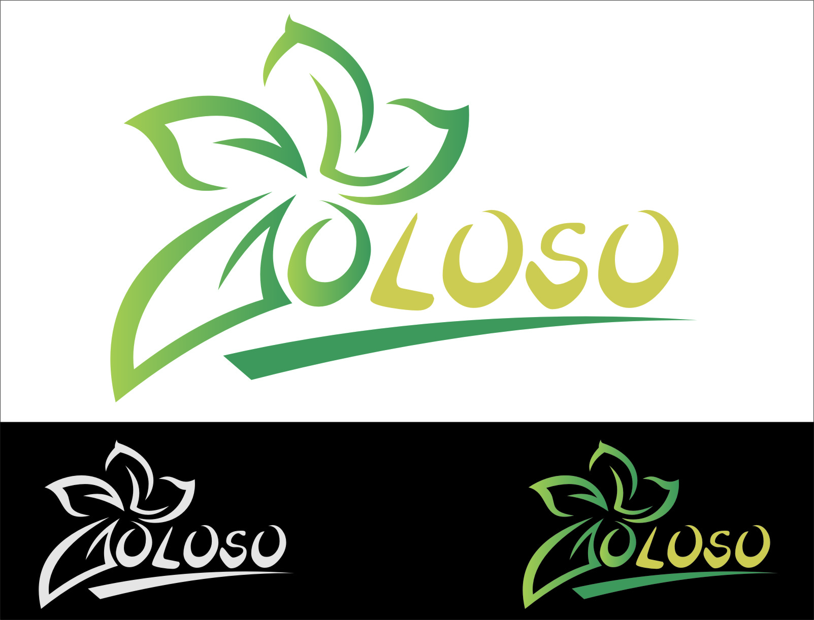 Logo Design by RasYa Muhammad Athaya - Entry No. 113 in the Logo Design Contest Unique Logo Design Wanted for Goloso.