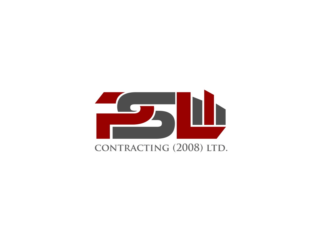 Logo Design by haidu - Entry No. 44 in the Logo Design Contest PSL Contracting (2008) Ltd. Logo Design.