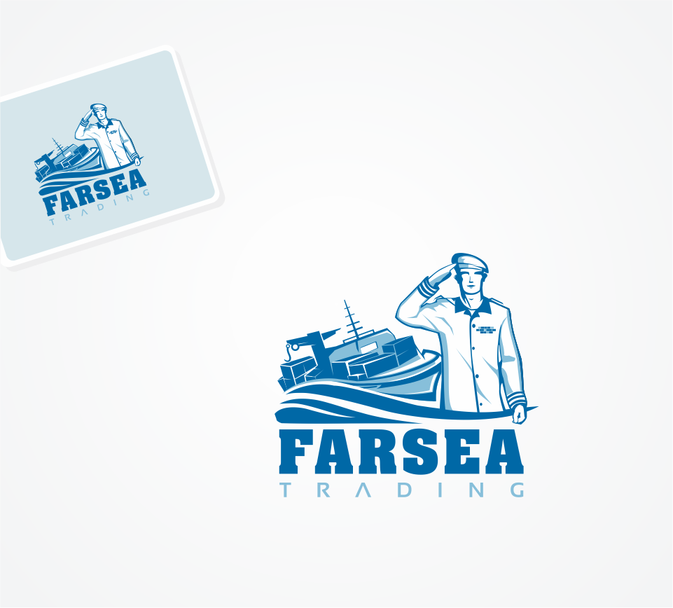 Logo Design by Mitchnick Sunardi - Entry No. 67 in the Logo Design Contest Unique Logo Design Wanted for Farsea Trading.
