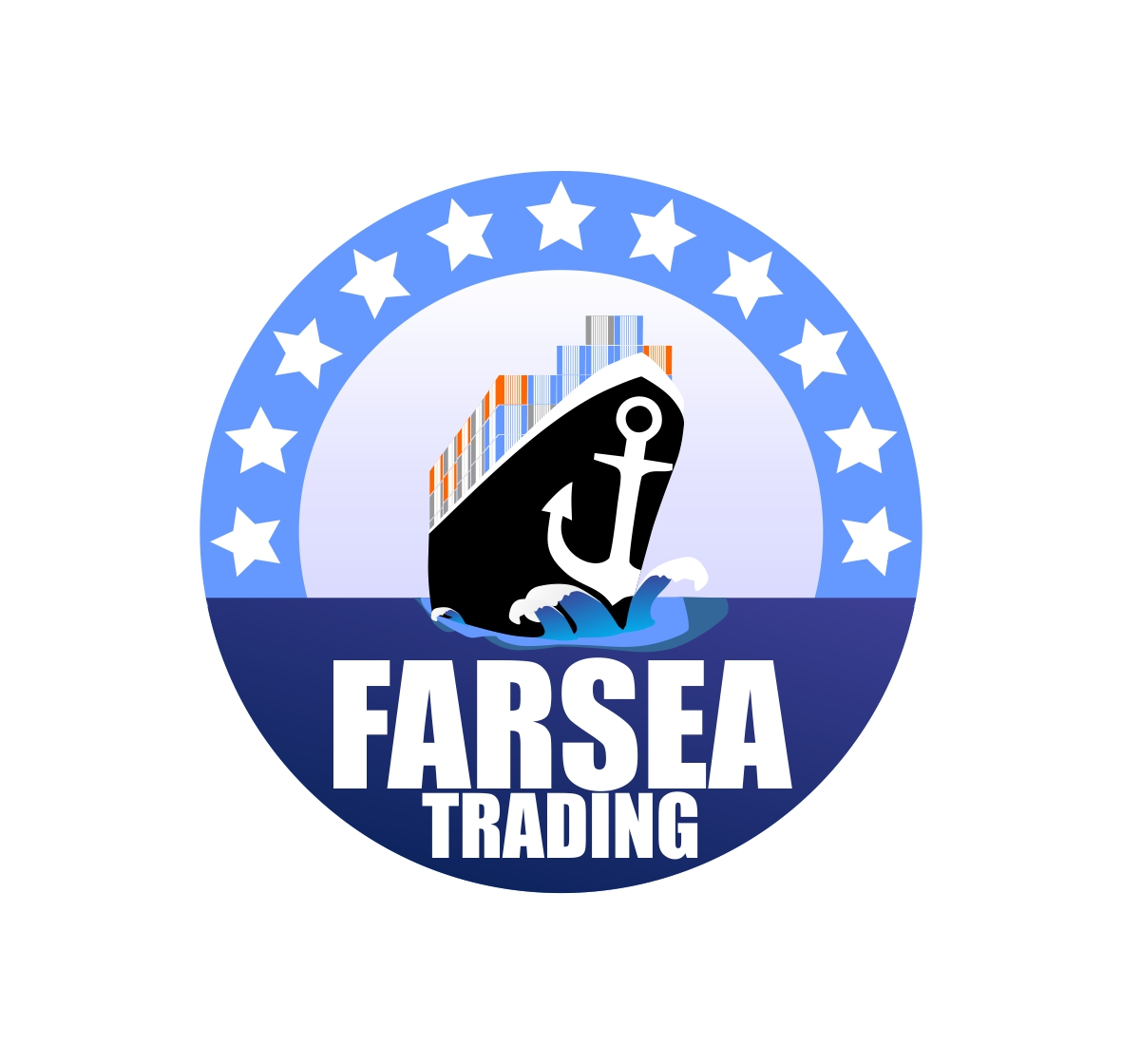 Logo Design by Hudy Wake - Entry No. 70 in the Logo Design Contest Unique Logo Design Wanted for Farsea Trading.
