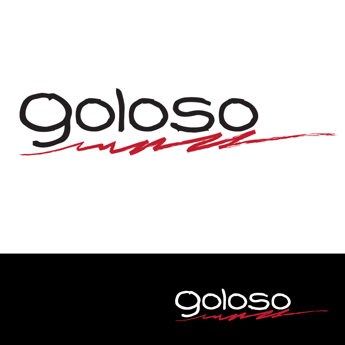 Logo Design by Diane Dunbrack - Entry No. 138 in the Logo Design Contest Unique Logo Design Wanted for Goloso.