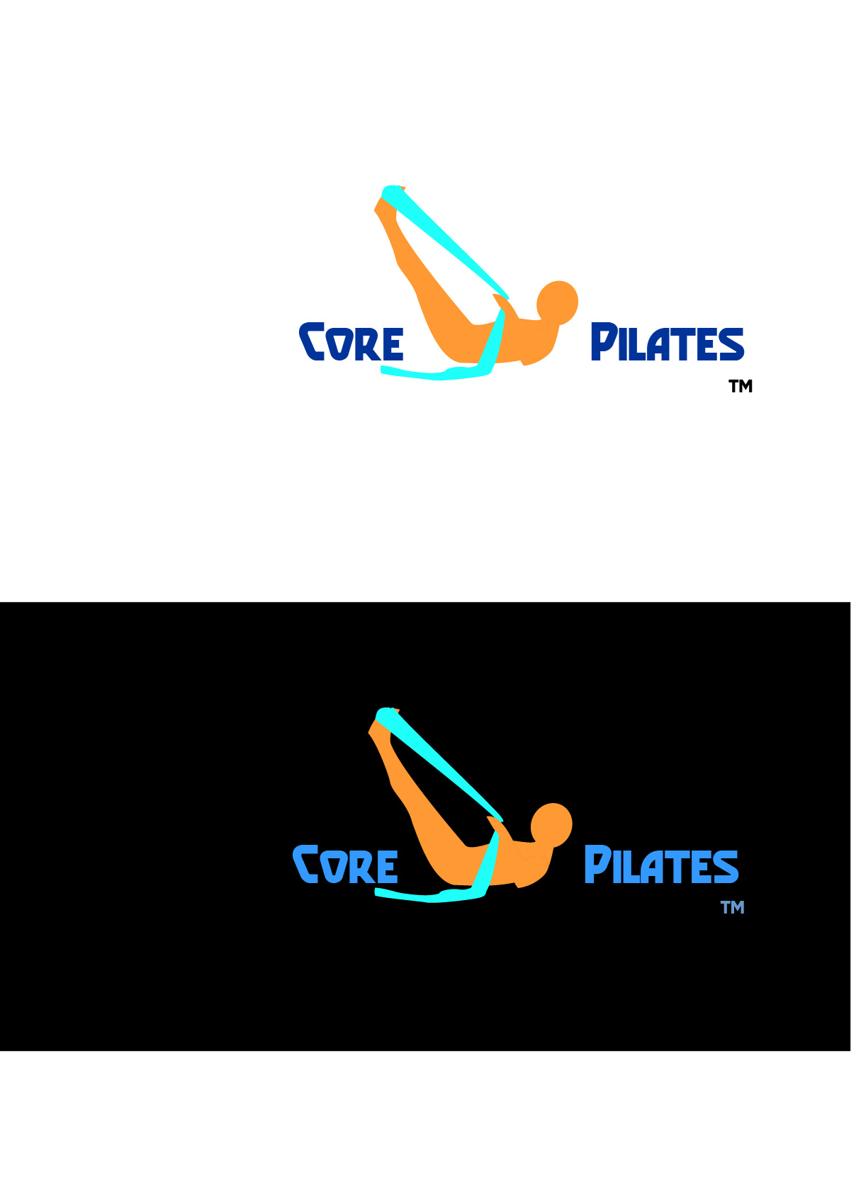 Logo Design by Nancy Grant - Entry No. 30 in the Logo Design Contest Core Pilates Logo Design.