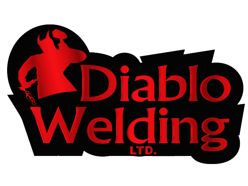 Logo Design by Mythos Designs - Entry No. 96 in the Logo Design Contest New Logo Design for Diablo Welding Ltd..