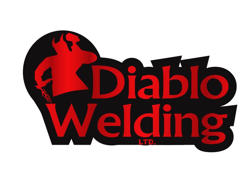 Logo Design by Mythos Designs - Entry No. 97 in the Logo Design Contest New Logo Design for Diablo Welding Ltd..