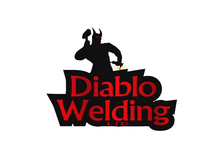 Logo Design by Mythos Designs - Entry No. 98 in the Logo Design Contest New Logo Design for Diablo Welding Ltd..