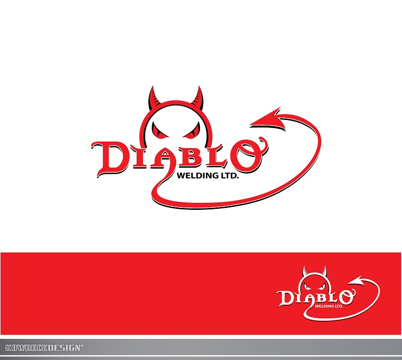 Logo Design by kowreck - Entry No. 99 in the Logo Design Contest New Logo Design for Diablo Welding Ltd..