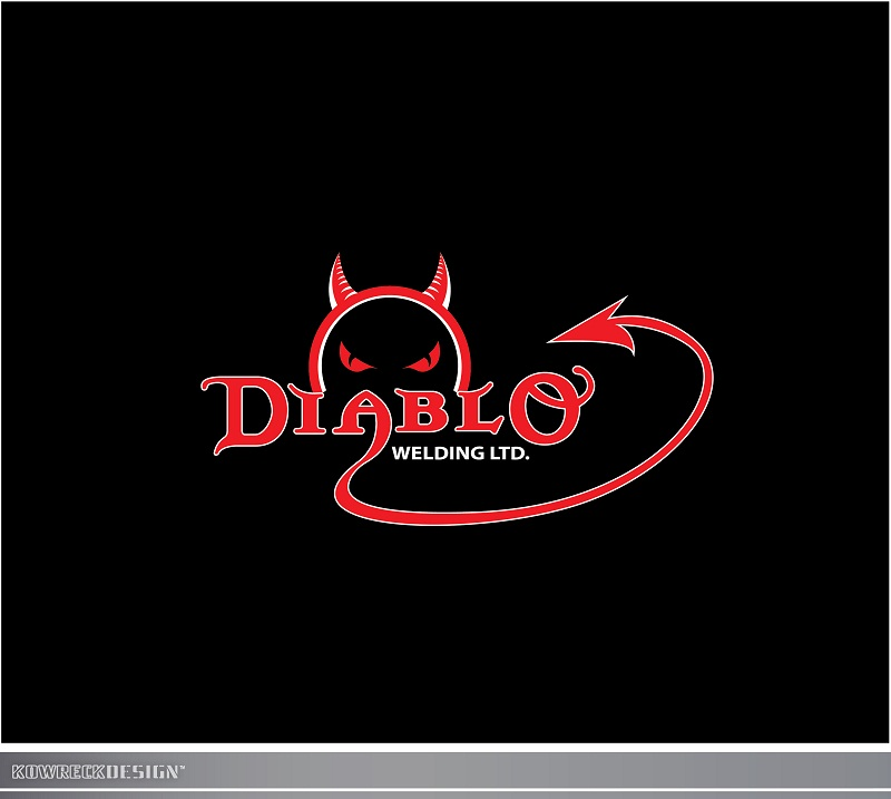 Logo Design by kowreck - Entry No. 100 in the Logo Design Contest New Logo Design for Diablo Welding Ltd..