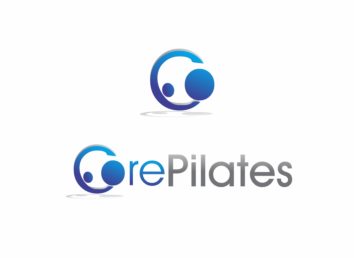 Logo Design by Zdravko Krulj - Entry No. 33 in the Logo Design Contest Core Pilates Logo Design.