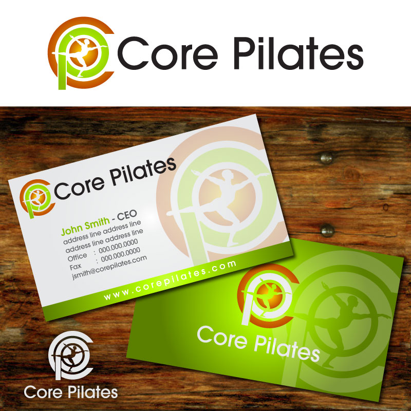 Logo Design by Rommel Delos Santos - Entry No. 34 in the Logo Design Contest Core Pilates Logo Design.