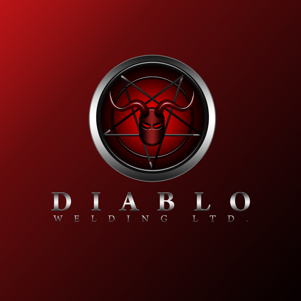 Logo Design by omARTist - Entry No. 101 in the Logo Design Contest New Logo Design for Diablo Welding Ltd..