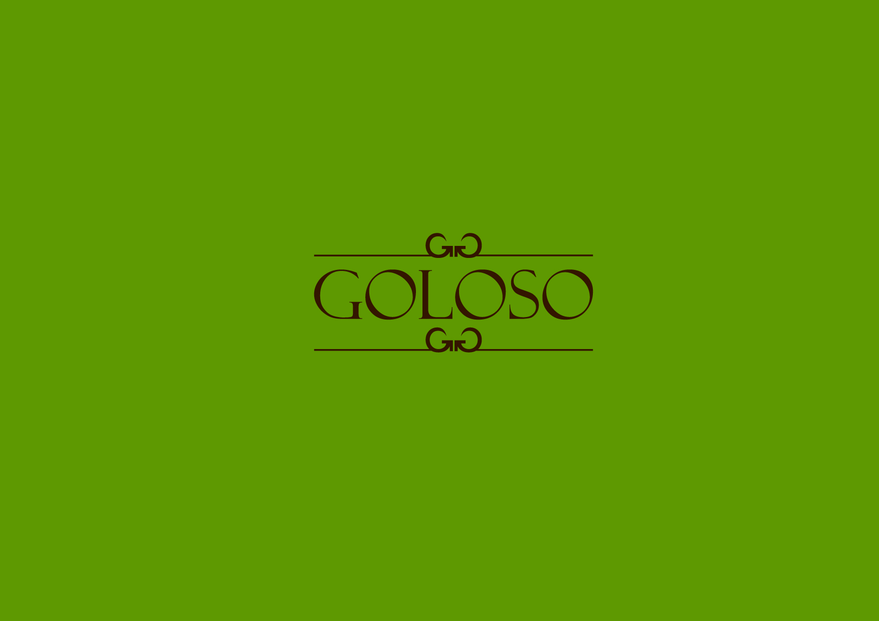 Logo Design by Osi Indra - Entry No. 176 in the Logo Design Contest Unique Logo Design Wanted for Goloso.