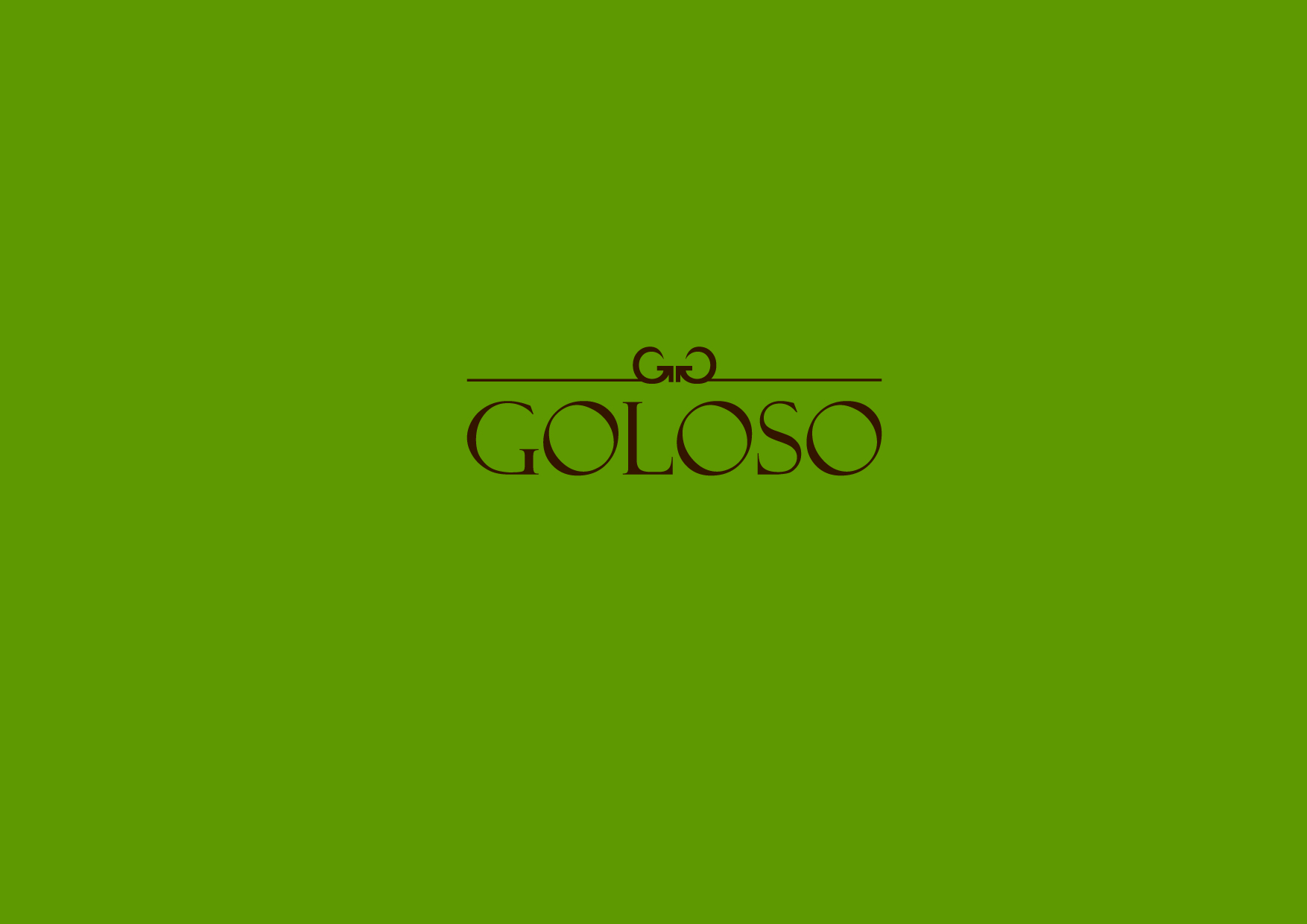 Logo Design by Osi Indra - Entry No. 177 in the Logo Design Contest Unique Logo Design Wanted for Goloso.