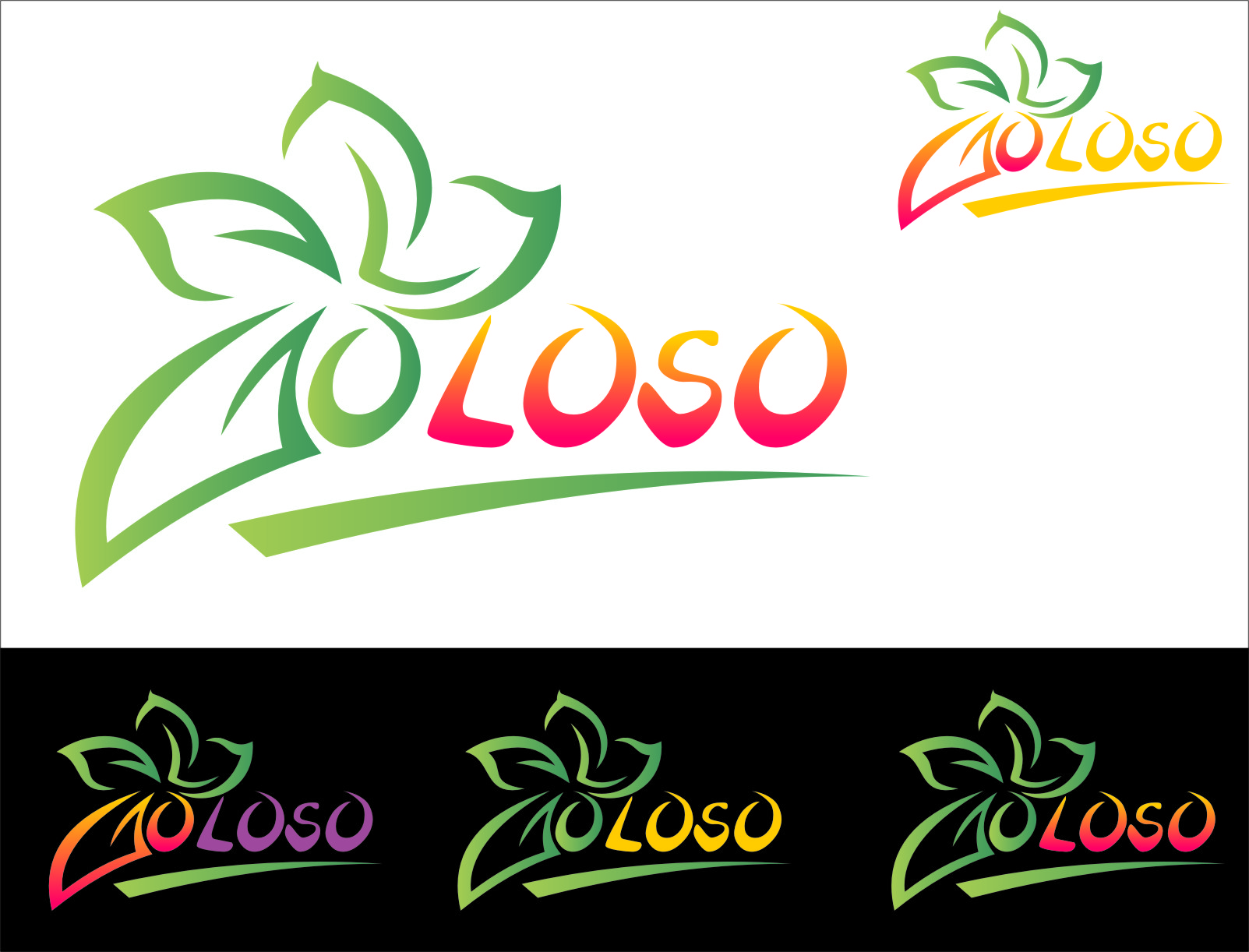 Logo Design by RasYa Muhammad Athaya - Entry No. 178 in the Logo Design Contest Unique Logo Design Wanted for Goloso.