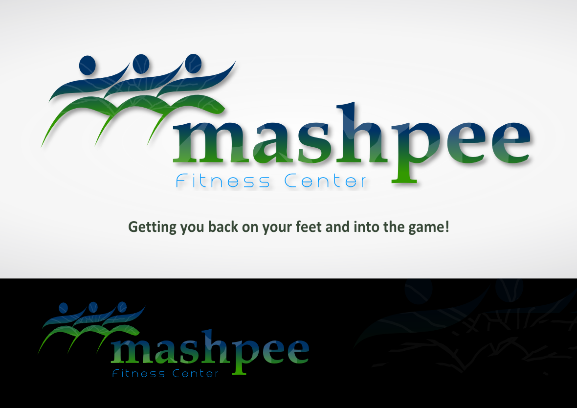 Logo Design by whoosef - Entry No. 82 in the Logo Design Contest New Logo Design for Mashpee Fitness Center.