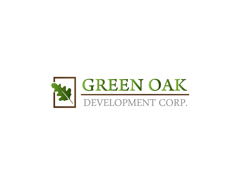 Logo Design by Private User - Entry No. 10 in the Logo Design Contest Unique Logo Design Wanted for Green Oak Development Corp..