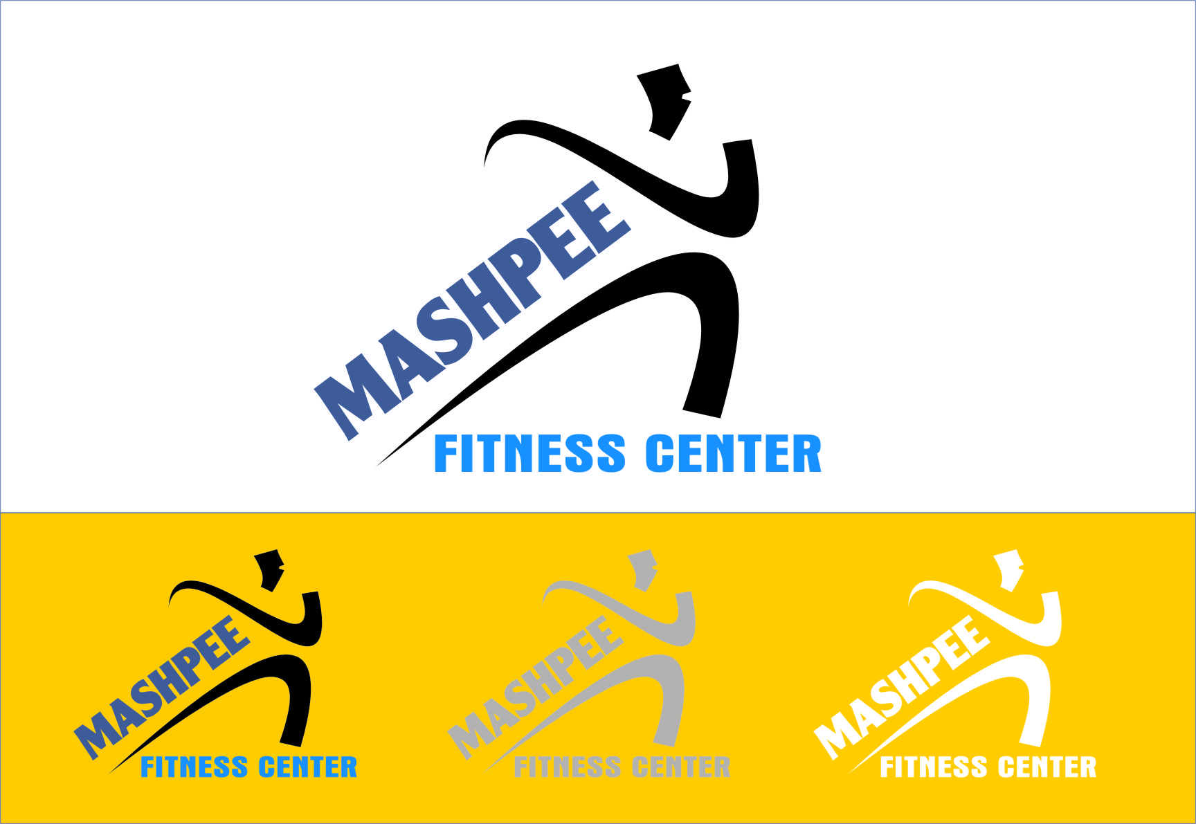 Logo Design by RoSyid Rono-Rene On Java - Entry No. 83 in the Logo Design Contest New Logo Design for Mashpee Fitness Center.
