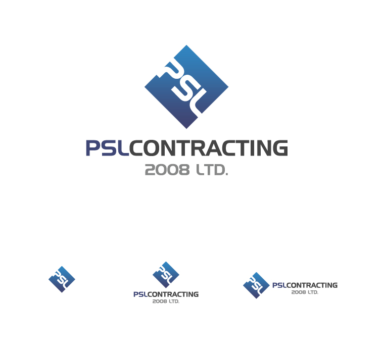 Logo Design by elmd - Entry No. 54 in the Logo Design Contest PSL Contracting (2008) Ltd. Logo Design.