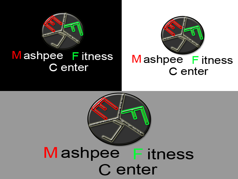 Logo Design by Aljohn Mana-ay - Entry No. 85 in the Logo Design Contest New Logo Design for Mashpee Fitness Center.