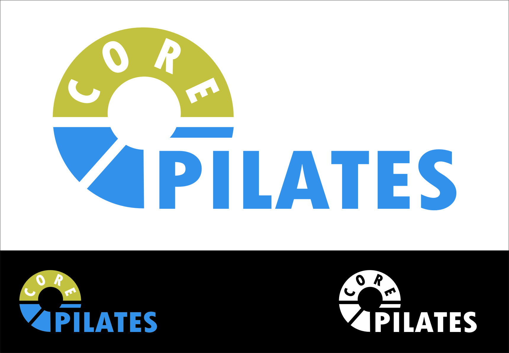 Logo Design by RasYa Muhammad Athaya - Entry No. 37 in the Logo Design Contest Core Pilates Logo Design.