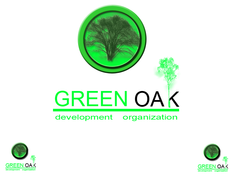 Logo Design by Aljohn Mana-ay - Entry No. 13 in the Logo Design Contest Unique Logo Design Wanted for Green Oak Development Corp..