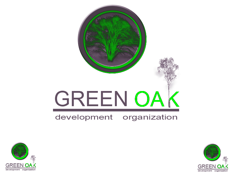 Logo Design by Aljohn Mana-ay - Entry No. 14 in the Logo Design Contest Unique Logo Design Wanted for Green Oak Development Corp..