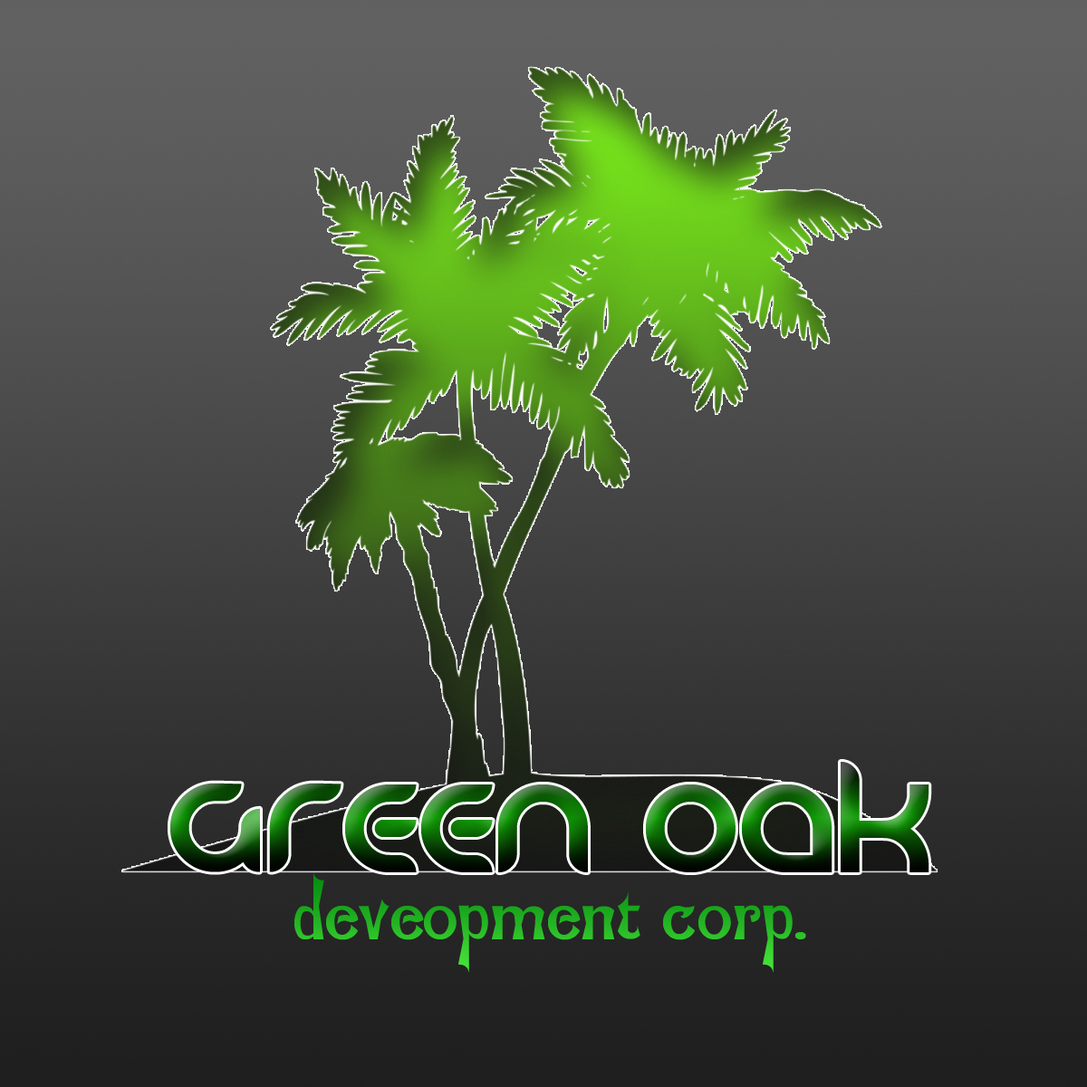 Logo Design by Viral Ramani - Entry No. 15 in the Logo Design Contest Unique Logo Design Wanted for Green Oak Development Corp..