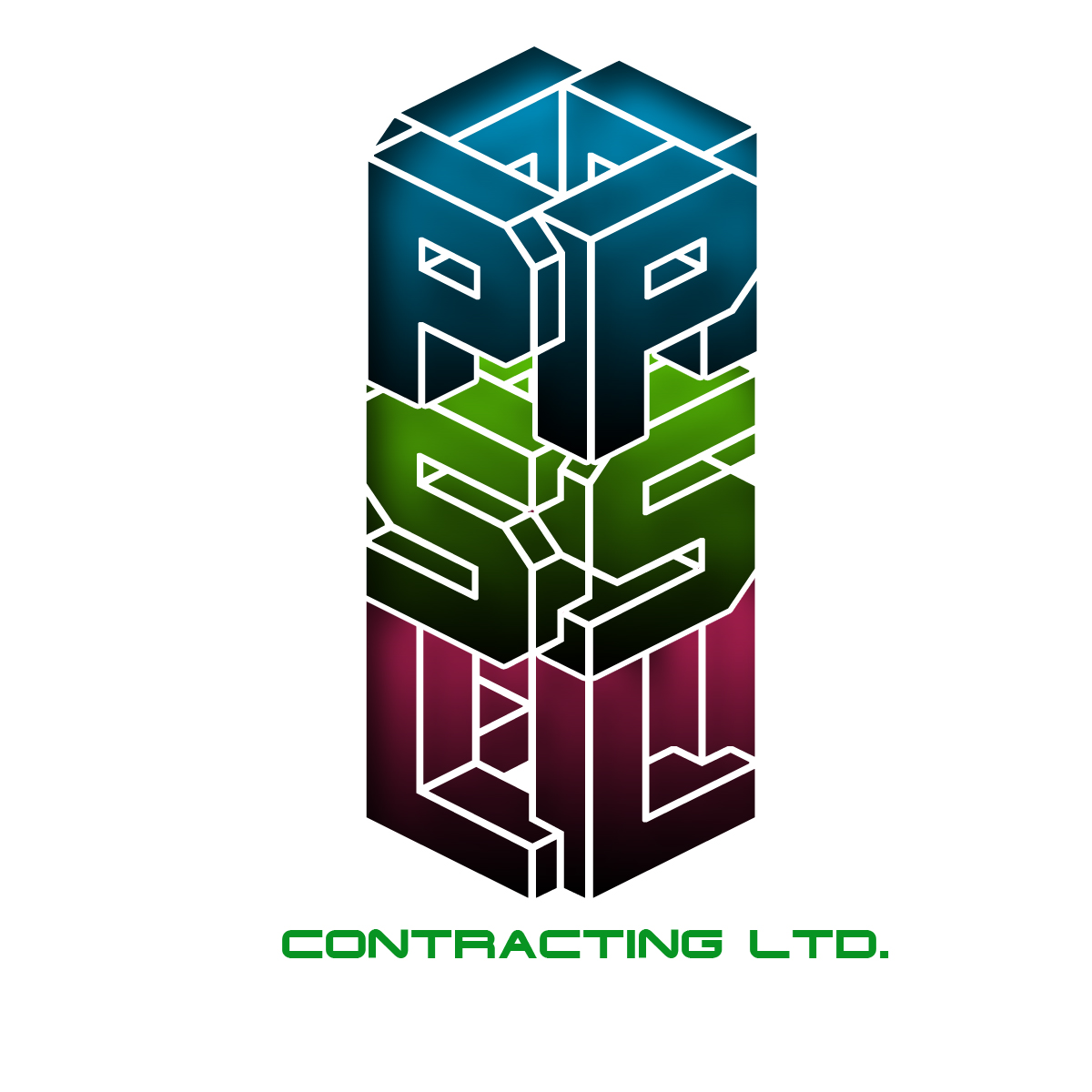 Logo Design by Viral Ramani - Entry No. 56 in the Logo Design Contest PSL Contracting (2008) Ltd. Logo Design.