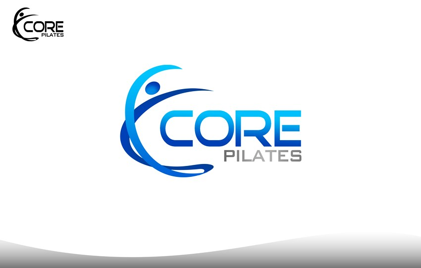 Logo Design by Respati Himawan - Entry No. 39 in the Logo Design Contest Core Pilates Logo Design.
