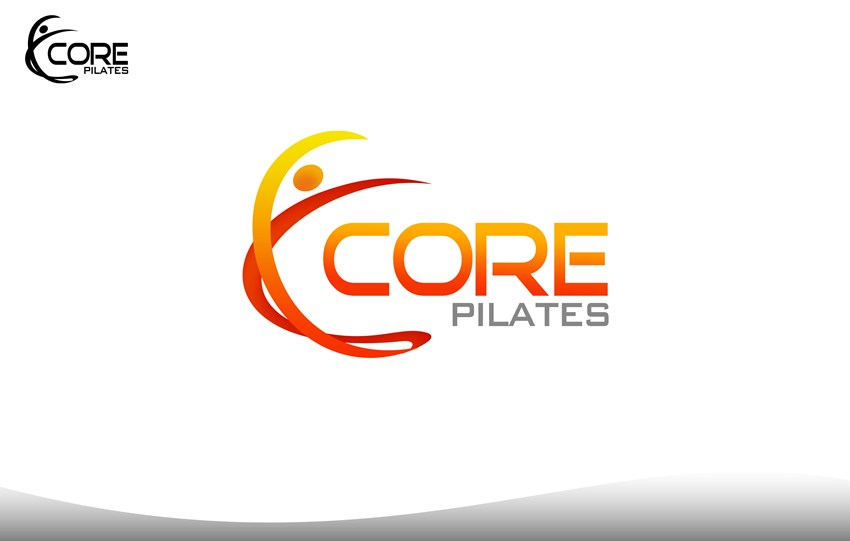 Logo Design by Respati Himawan - Entry No. 40 in the Logo Design Contest Core Pilates Logo Design.