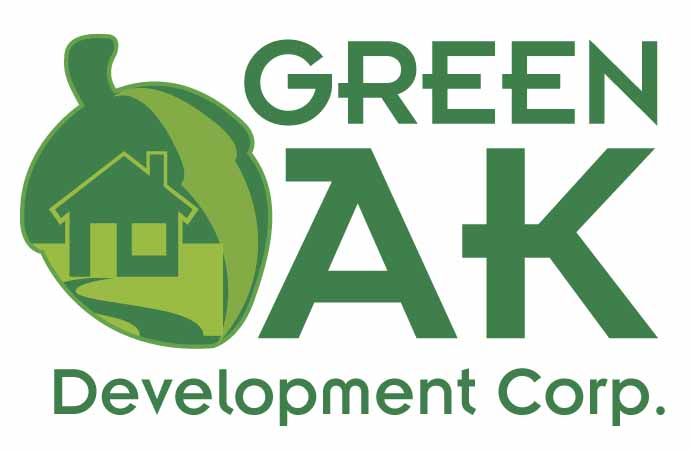 Logo Design by Jonathan Rasonable - Entry No. 17 in the Logo Design Contest Unique Logo Design Wanted for Green Oak Development Corp..