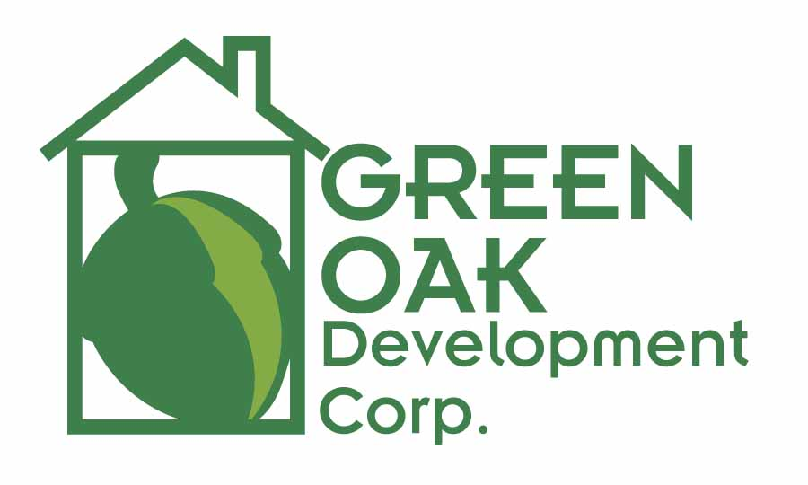 Logo Design by Jonathan Rasonable - Entry No. 20 in the Logo Design Contest Unique Logo Design Wanted for Green Oak Development Corp..
