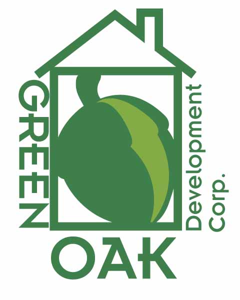 Logo Design by Jonathan Rasonable - Entry No. 21 in the Logo Design Contest Unique Logo Design Wanted for Green Oak Development Corp..