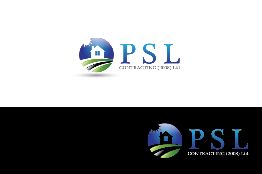 Logo Design by Private User - Entry No. 61 in the Logo Design Contest PSL Contracting (2008) Ltd. Logo Design.