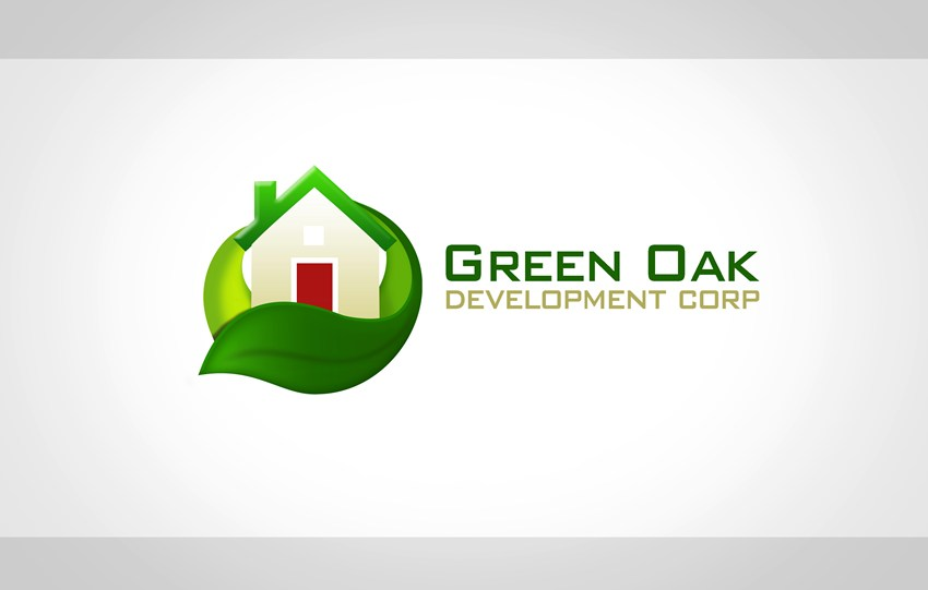 Logo Design by Respati Himawan - Entry No. 22 in the Logo Design Contest Unique Logo Design Wanted for Green Oak Development Corp..