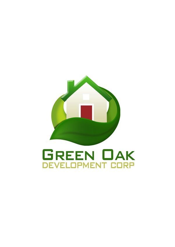 Logo Design by Respati Himawan - Entry No. 26 in the Logo Design Contest Unique Logo Design Wanted for Green Oak Development Corp..