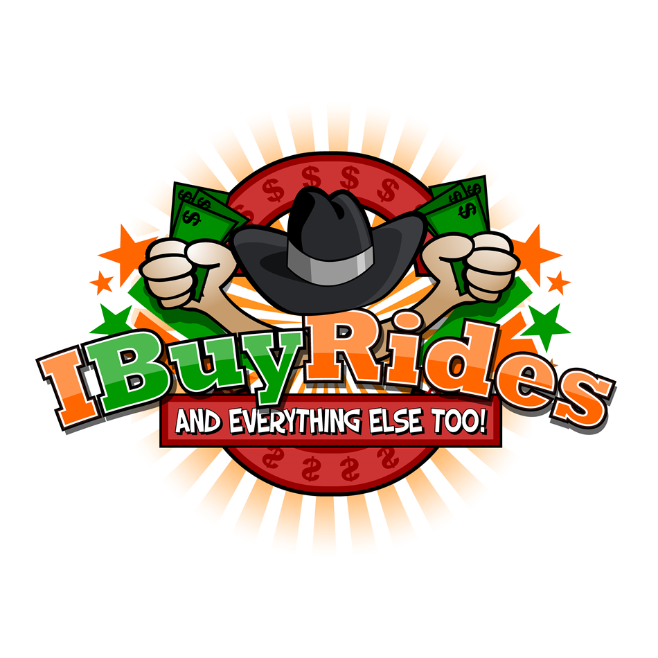 Logo Design by xenowebdev - Entry No. 55 in the Logo Design Contest IBuyRides.com needs a Cool Country Funny Cartoony Logo.