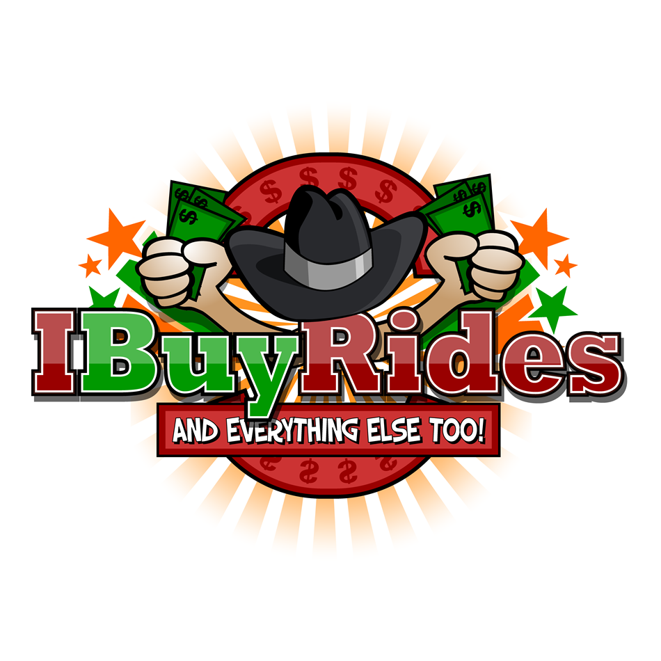 Logo Design by xenowebdev - Entry No. 56 in the Logo Design Contest IBuyRides.com needs a Cool Country Funny Cartoony Logo.