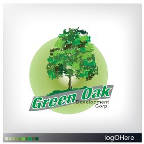 Logo Design by Marinescu Lucian - Entry No. 28 in the Logo Design Contest Unique Logo Design Wanted for Green Oak Development Corp..
