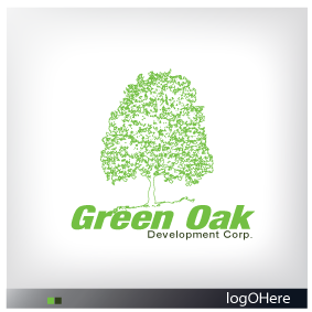 Logo Design by Marinescu Lucian - Entry No. 29 in the Logo Design Contest Unique Logo Design Wanted for Green Oak Development Corp..