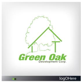 Logo Design by Marinescu Lucian - Entry No. 30 in the Logo Design Contest Unique Logo Design Wanted for Green Oak Development Corp..
