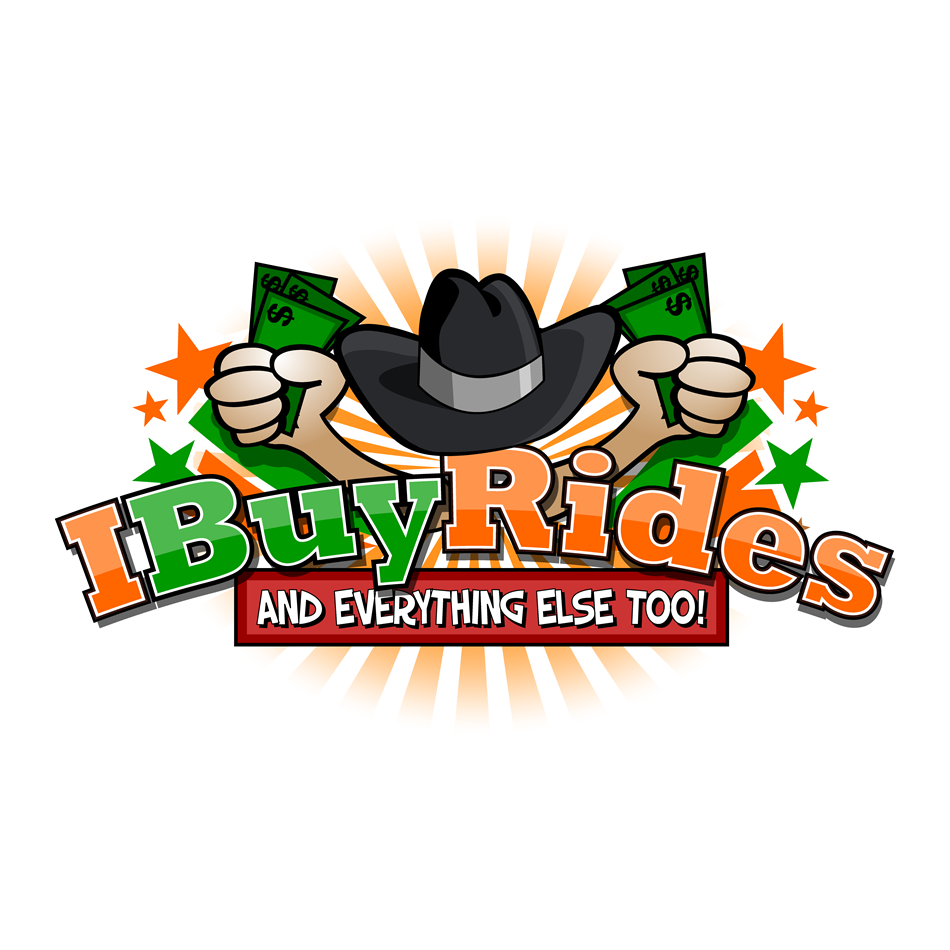 Logo Design by xenowebdev - Entry No. 57 in the Logo Design Contest IBuyRides.com needs a Cool Country Funny Cartoony Logo.