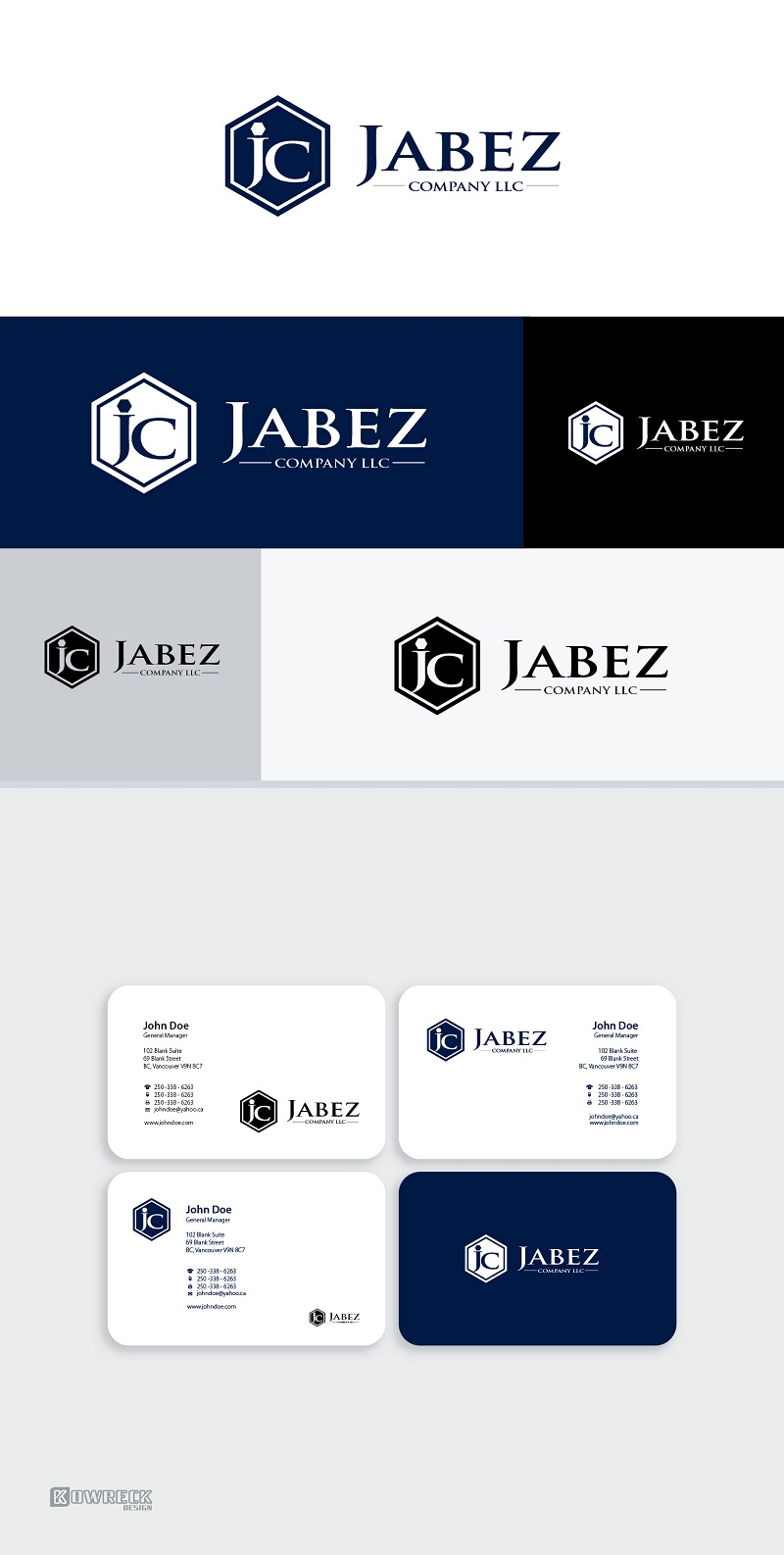 Logo Design by kowreck - Entry No. 165 in the Logo Design Contest New Logo Design for Jabez Compnay, LLC.