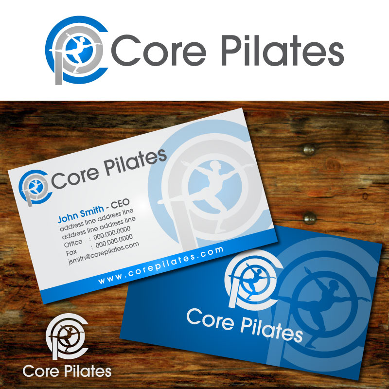 Logo Design by Rommel Delos Santos - Entry No. 47 in the Logo Design Contest Core Pilates Logo Design.