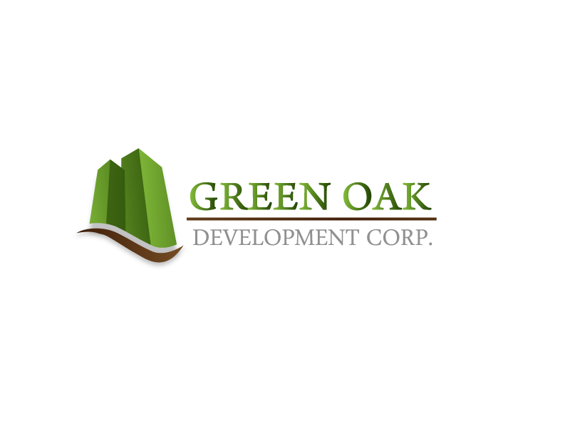 Logo Design by Private User - Entry No. 34 in the Logo Design Contest Unique Logo Design Wanted for Green Oak Development Corp..