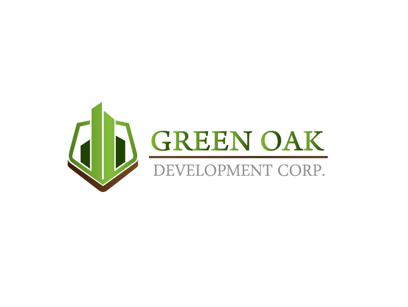 Logo Design by Private User - Entry No. 35 in the Logo Design Contest Unique Logo Design Wanted for Green Oak Development Corp..